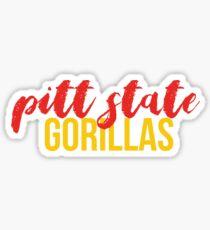 Pitt State Sticker