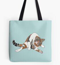 Calico Cat Bath Time Tote Bag
