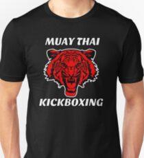 Muay thai kickboxing red tiger  Unisex T-Shirt