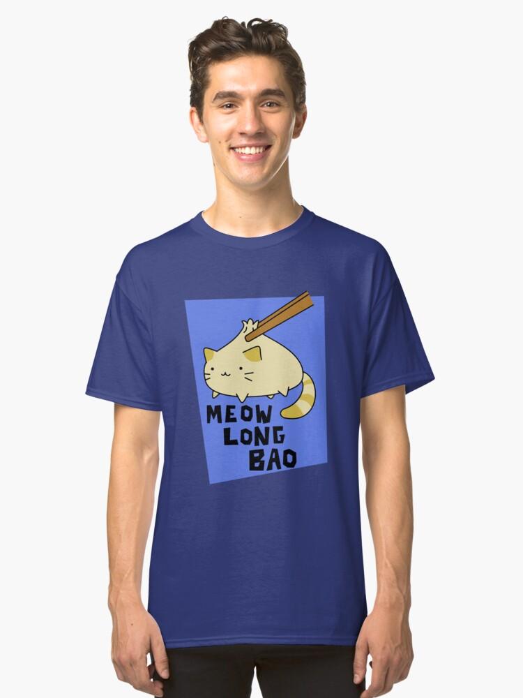 Meow Long Bao Classic T-Shirt Front