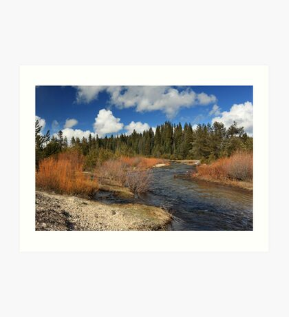 North Fork Deer Creek Art Print