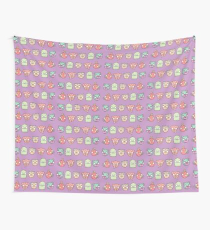 Animal Line Up Wall Tapestry