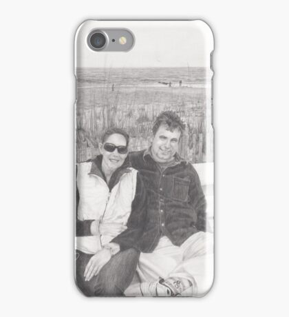 Cool Day at the Beach iPhone Case/Skin