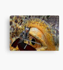 Dragon Slayer 2 Canvas Print