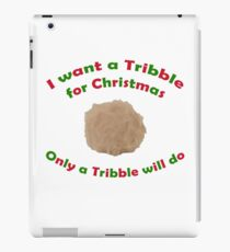 Tribble for Christmas iPad Case/Skin