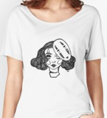 masked Women's Relaxed Fit T-Shirt