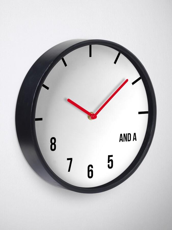 Alternate view of Dance Clock Clock
