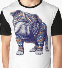 English Bulldog (Color Version) Graphic T-Shirt