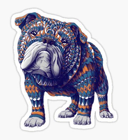 English Bulldog (Color Version) Sticker