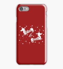 Merry & Bright Christmas iPhone Case/Skin