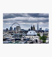 London at the Jubilee Weekend Photographic Print