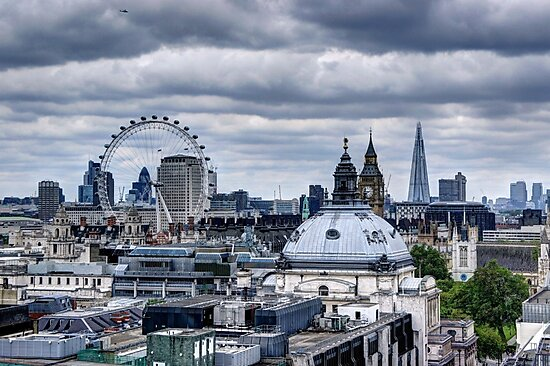 London at the Jubilee Weekend by Phill Sacre