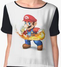 Super Mario  Women's Chiffon Top