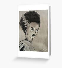 Un-Dead Bride Greeting Card
