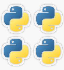 Python Transparenter Sticker