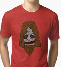 Sassy The Sasquatch  Tri-blend T-Shirt