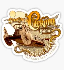 The Great Pit of Carkoon Sticker