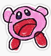 Kirby: Planet Robobot - Kirby Doodle Sticker