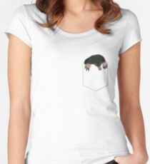 Up to no good Women's Fitted Scoop T-Shirt