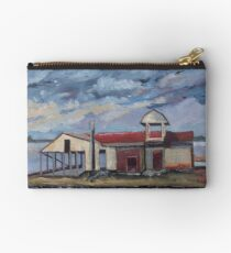 Last Oyster Shucking House Studio Pouch