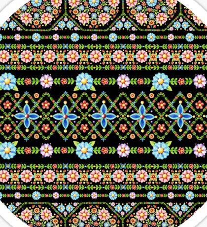 Millefiori Folkloric Stripe Sticker