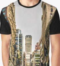 NYC Street Block Graphic T-Shirt