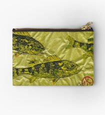 Gyotaku - Yellow Perch - Walleye Studio Pouch