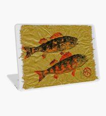 Gyotaku - Yellow Perch - Orange Roughy Laptop Skin