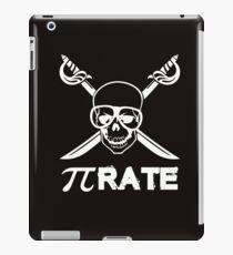 Pi Rate white iPad Case/Skin