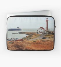 Nova Star Ferry Rounds Cape Forchu for the First Time Laptop Sleeve