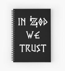 General Zod Spiral Notebook