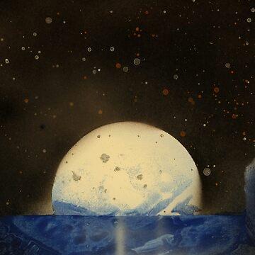 Sprayed Moonlight by Jokerman136