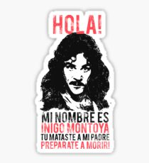 Inigo Montoya Sticker