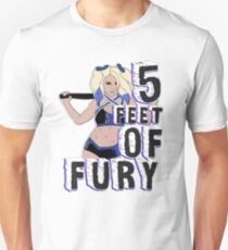 """5 Feet of Fury"" Alexa Bliss Unisex T-Shirt"