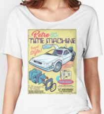 Retro Time Machine Women's Relaxed Fit T-Shirt