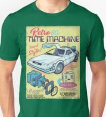 Retro Time Machine Unisex T-Shirt