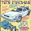 Retro Time Machine by mannypdesign