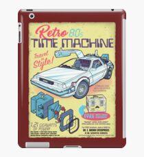 Retro Time Machine iPad Case/Skin