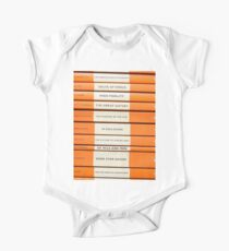 Book Spine Graphic Shirt Kids Clothes