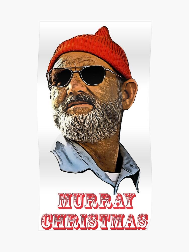 Bill Murray Christmas.Bill Murray Christmas Poster