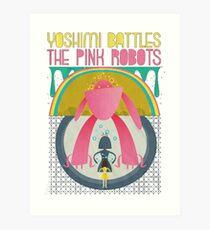 The Flaming Lips - Yoshimi battles the pink robots Art Print