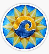 Mandala : Surf & Sun Sticker