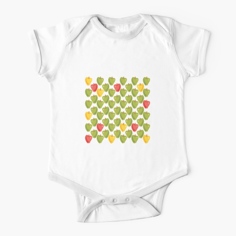 Sweet Apples Short Sleeve Baby One-Piece