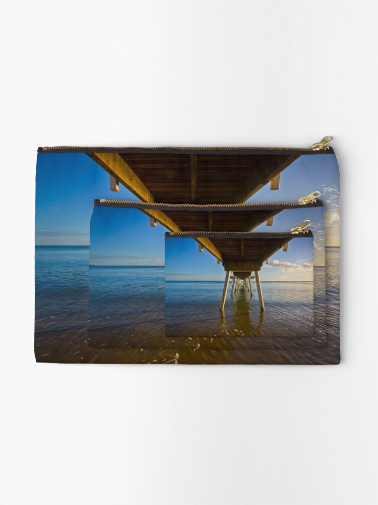 Alternate view of Under The Jetty Zipper Pouch