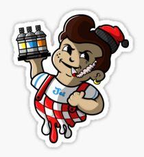 Jei's BigBoy Sticker Sticker