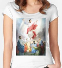 Hinkie Died For Our Sins Women's Fitted Scoop T-Shirt