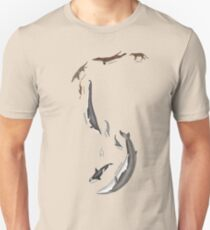 Whale evolution - prehistoric and modern whales T-Shirt