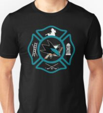 San Jose Fire - Sharks style Unisex T-Shirt