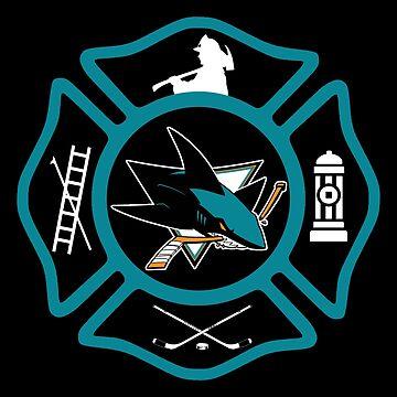 San Jose Fire - Sharks style by ianscott76
