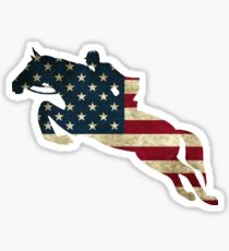 USA Jumping Sticker